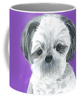 Coffee Mug featuring the painting Lulu by Suzy Mandel-Canter