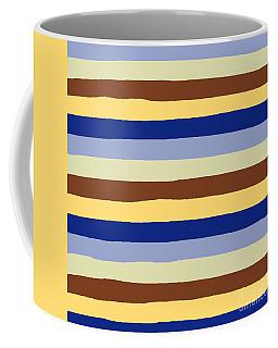 lumpy or bumpy lines abstract and summer colorful - QAB277 Coffee Mug
