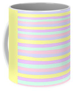 lumpy or bumpy lines abstract - QAB283 Coffee Mug