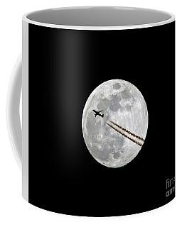 Lunar Photobomb Coffee Mug