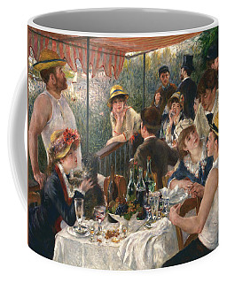 Coffee Mug featuring the painting Luncheon Of The Boating Party, 1880-1881 by Auguste Renoir
