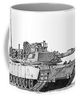 M1a1 A Company 2nd Platoon Commander Coffee Mug