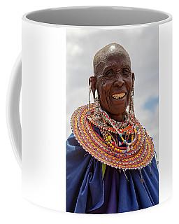 Maasai Woman In Tanzania Coffee Mug