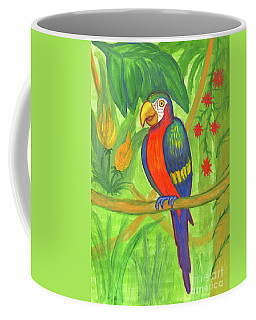 Macaw Parrot In The Wild Coffee Mug