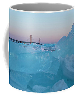 Mackinac Bridge In Ice 2161805 Coffee Mug