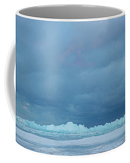 Mackinaw City Ice Formations 21618012 Coffee Mug