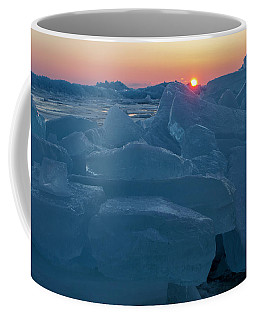 Mackinaw City Ice Formations 21618013 Coffee Mug