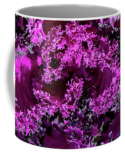 Coffee Mug featuring the photograph Magenta Cabbage by Mark Shoolery