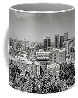 Magic City Skyline Bw Coffee Mug