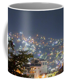 Coffee Mug featuring the photograph Magic Of Zihuatanejo Bay by Rosanne Licciardi