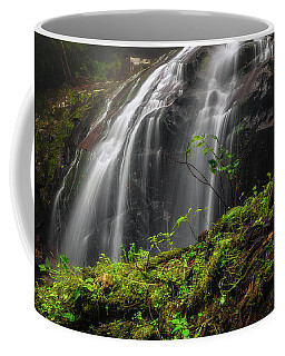 Magical Mystical Mossy Waterfall Coffee Mug