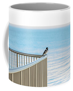 Magpie In Waiting Coffee Mug