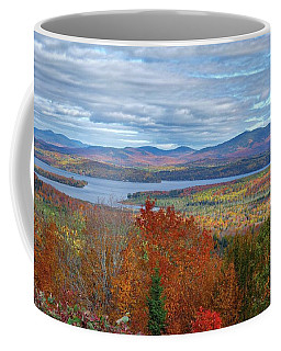 Maine Fall Colors Coffee Mug