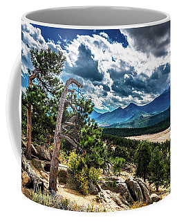Coffee Mug featuring the photograph Majestic Clouds by James L Bartlett
