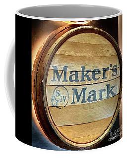 Makers Mark Barrel Coffee Mug