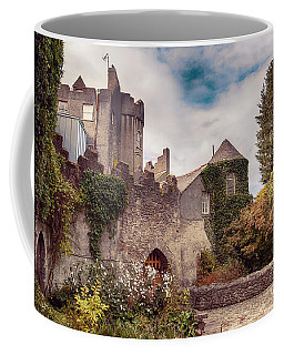 Coffee Mug featuring the photograph Malahide Castle By Autumn  by Ariadna De Raadt