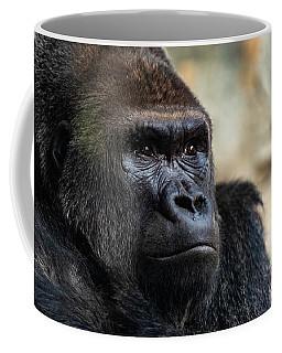 Male Western Gorilla Looking Around, Gorilla Gorilla Gorilla Coffee Mug