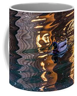 Mallard In Reflections Coffee Mug