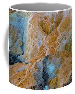 Coffee Mug featuring the photograph Mammoth Hot Springs by Mae Wertz