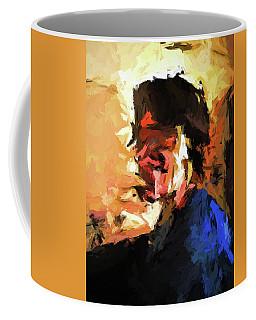 Man In The Cobalt Blue Shirt Coffee Mug