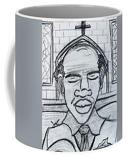 Man Praying  Coffee Mug