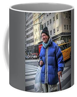 Man Vs. City Coffee Mug