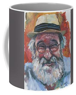 Man With Yellow Hat Coffee Mug