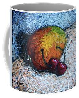 Mango And Cherries Coffee Mug