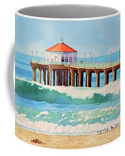 Manhattan Beach Pier Coffee Mug