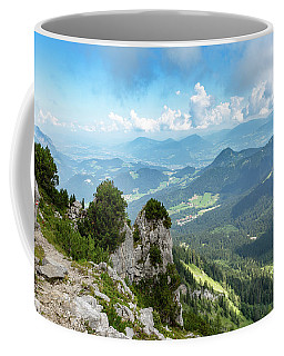 Coffee Mug featuring the photograph Mannlsteig, Berchtesgadener Land by Andreas Levi