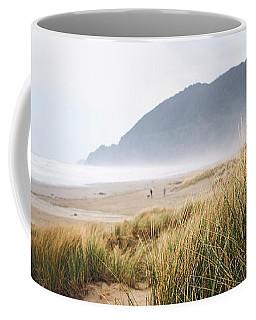 Coffee Mug featuring the photograph Manzanita Beach by Whitney Goodey