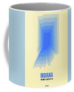 Map Of Indiana Coffee Mug