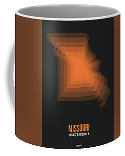 Map Of Missouri 1 Coffee Mug