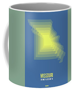 Map Of Missouri Coffee Mug