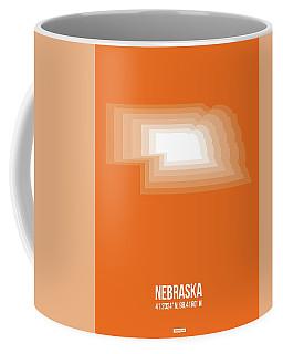 Map Of Nebraska Coffee Mug