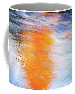 Coffee Mug featuring the photograph Maple Reflection Fall by Michael Hubley