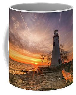 Marblehead Lighthouse Sunrise  Coffee Mug