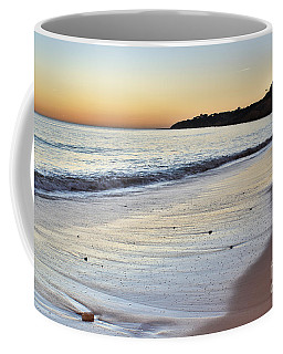 Maria Luisa Beach In Albufeira Coffee Mug