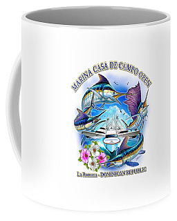 Marina Casa De Campo Open Art Coffee Mug