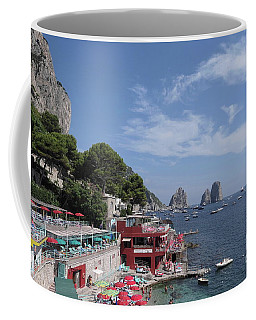 Marina Piccola Beach Coffee Mug