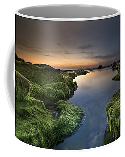 Marine Sunset Coffee Mug