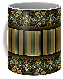 Coffee Mug featuring the digital art Mark by Missy Gainer