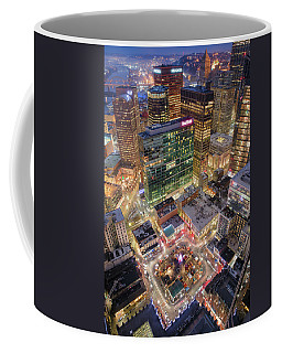 Market Square From Above  Coffee Mug