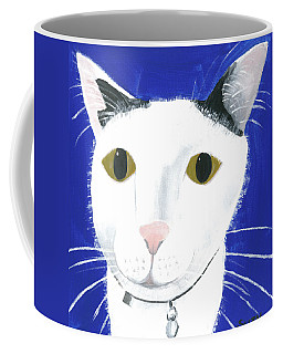 Coffee Mug featuring the painting Marley by Suzy Mandel-Canter