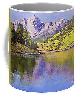 Maroon Bells Reflections Coffee Mug