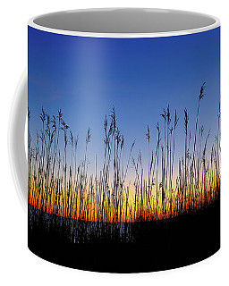 Marsh Grass Silhouette  Coffee Mug