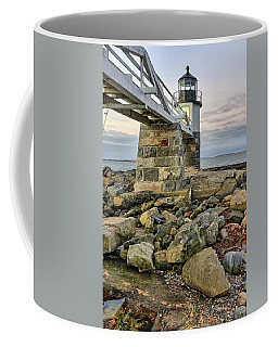 Marshall Point Light From The Rocks Coffee Mug