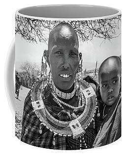 Masaai Mother And Child Coffee Mug