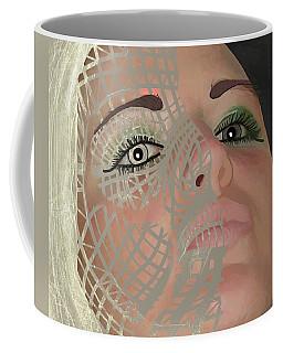 Mask Dark And Light Coffee Mug