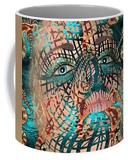 Mask Dreaming Of The Sea Coffee Mug